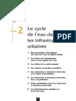 Le cycle de l´eau dans les infrastructures urbaines (Cimebéton, 2007)