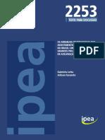 LOTTA, G. e FAVARETO, A. Os arranjos institucionais dos investimentos em infraestrutura. PAC.pdf