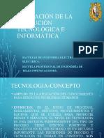 Aplicación de la evolución tecnológica e informática parte 1-1