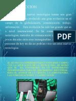 Aplicación de la evolución tecnológica e informática parte 1-2