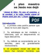 El plan maestro que Jesús nos dejo