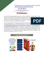 Modificatoria el Art 77 IPERC