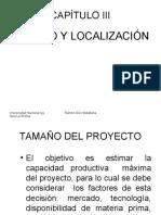 3 FEP I 3 4 5 Tamaño o localización Ingeniería a Organización