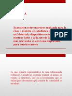EXPOSICION MUESTRA Y MUESTREO (1)