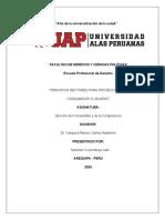 TRABAJO DE DERECHO DEL CONSUMIDOR}