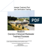 Overview of Advanced Wastewater Treatment Processes
