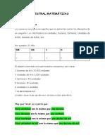 REPASO TRIMESTRAL MATEMÁTICAS