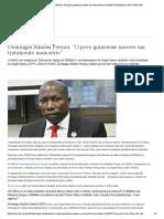Domingos Simões Pereira_ ″O povo guineense merece um tratamento mais sério″ _ Guiné-Bissau _ DW _ 04.06.2020
