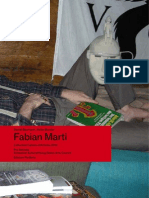 FABIAN MARTI - Cahier d'artiste