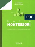 07 Maria Montessori, Colección Comprende La Psicología - SALVAT
