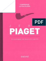 08 Jean Piaget, Colección Comprende La Psicología - SALVAT