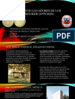 ARQUITECTOS GANADORES DE LOS PREMIOS PRITZKER (1979.pptx
