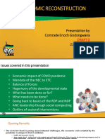 ANC Economic Reconstruction Presentation