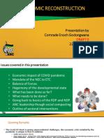 ANC Economic Reconstruction Presentation