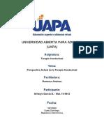 Terapia Conductual - Tarea II.docx