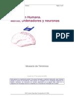 Cognición Humana. mente ordenadores y neuronas glosario