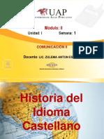 SEMANA 1 HISTORIA DEL CASTELLANO
