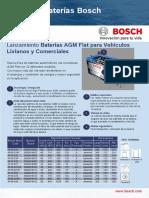 Batería AGM Bosch