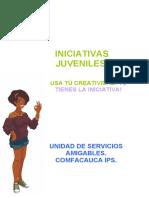 INICIATIVAS JUVENILES. Unidad de servicios amigables comfacauca