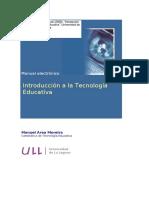 Tecnología Educativa Area Moreira Evolución histórica