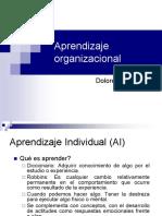 Unidad 2 Aprendizaje en organizacional