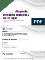 Sesion 2- Conceptos generales y marco legal para Planes conting.