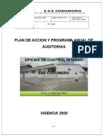 PLAN DE ACCION OFICINA CONTROL INTERNO 2020