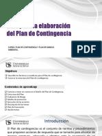 Sesion 3-Estructura del plan de contingencia.