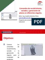 Comandos de recubrimiento, vaciado y  generación de planos en diferentes ángulos (3)