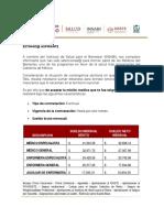 REQUISITOS MISION MEDICA- COVID-19- ESTADO DE OAXACA