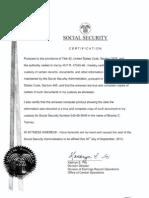 Obama SSN Fraud Proof