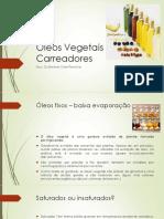 óleos vegetais