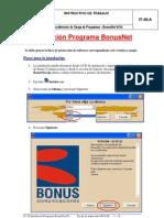 IT-36 Instalación Programa BonusNet