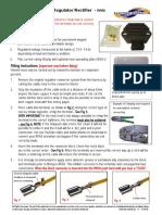RR58 good 3 phase regulator rectifier diagram