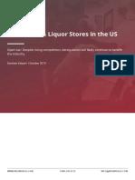 IBISWorld Beer Wine - 2019 Liquor Stores in the US Industry Report