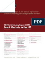 IBISWorld - 2019 Meat Markets in the US Industry Report