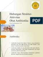Hubungan Struktur-Aktivitas Obat Antibiotik