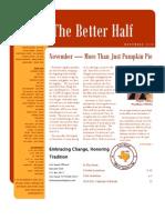NOV 2010 Newsletter