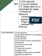Electricidad Estática y Magnetismo