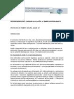 Protocolo Gastronomía Covid19