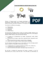 OBSERVACIÓN DE FENÓMENOS METEOROLÓGICOS