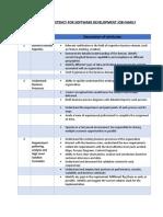 Technical Skill for Software Development Job Family_V1.1
