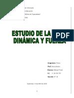 dinamica y fuerza manuel 4B