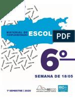 6º espanhol editável