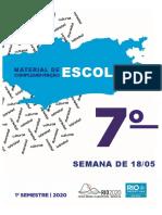 7º espanhol editável