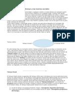El Tiempo y las Teorias Sociales.doc
