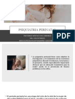 PSIQUIATRIA PERINATAL