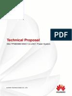 HUAWEI Mini TP48300B-N04C1 & L04C1 Power System Technical Proposal (1)