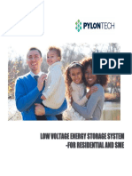 Spec Sheet Pylontech
