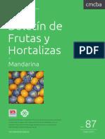Boletin INTA CMCBA 87 Mandarina